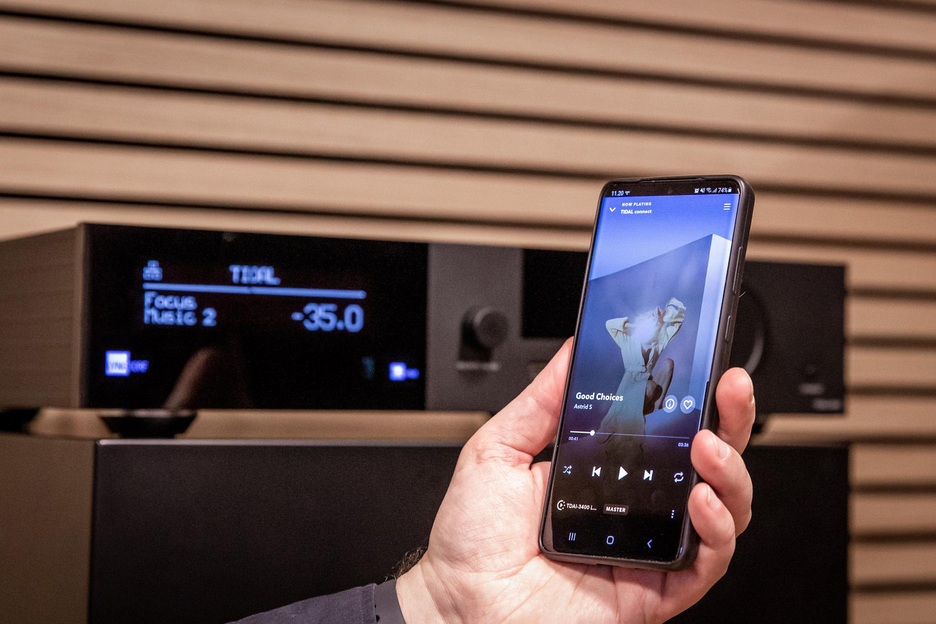 TIDAL-CONNECT-Lyngdorf-Audio hires hi-res streaming strømming høyoppløst