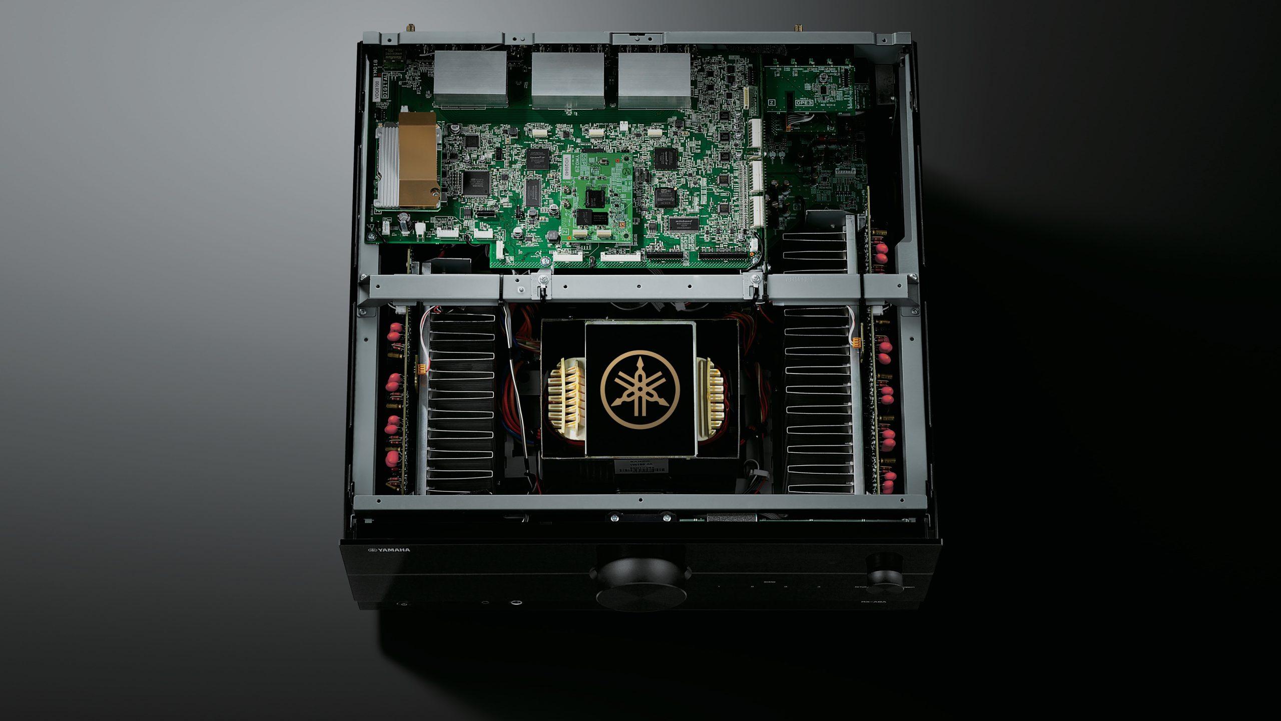 Yamaha RX-A8A interior