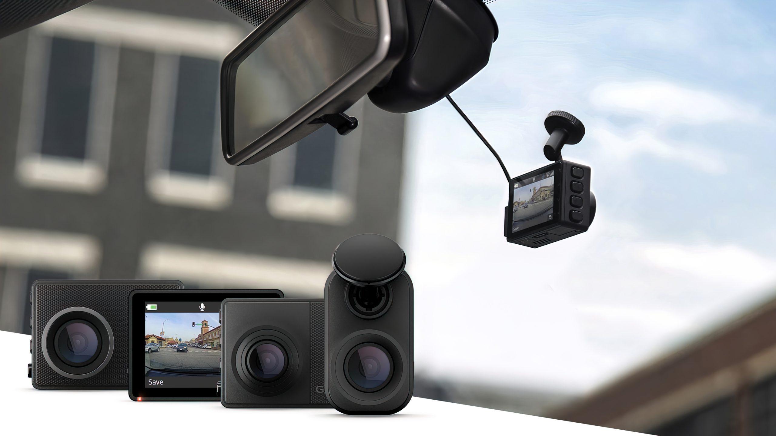 Dash Cam Mini 2, Dash Cam 47, Dash Cam 57 og Dash Cam 67W