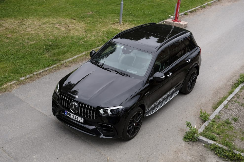 MB GLE 63s AMG roof