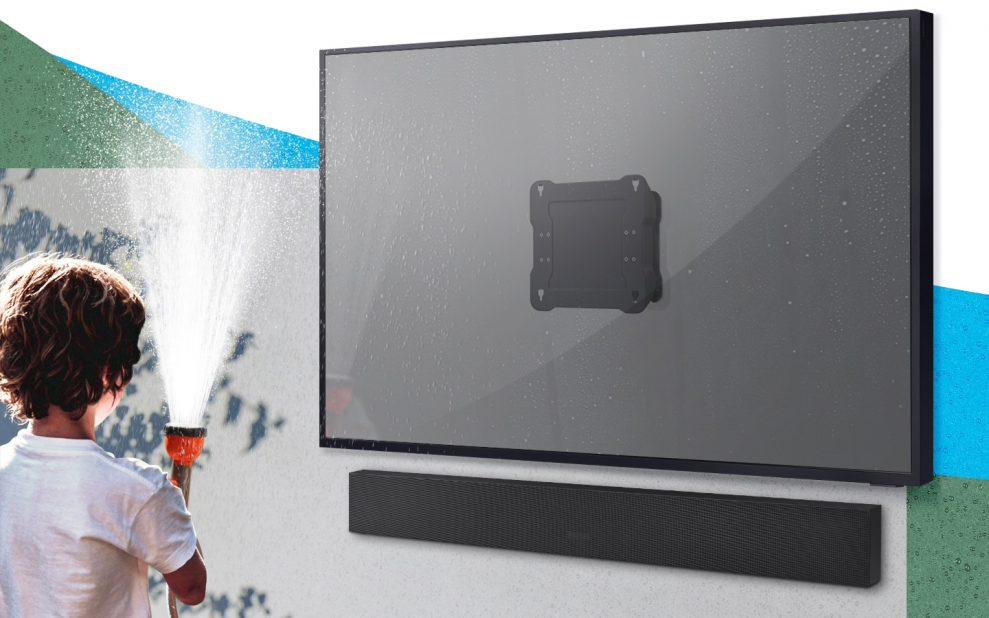 Samsung Terrace 55 inch wall mount
