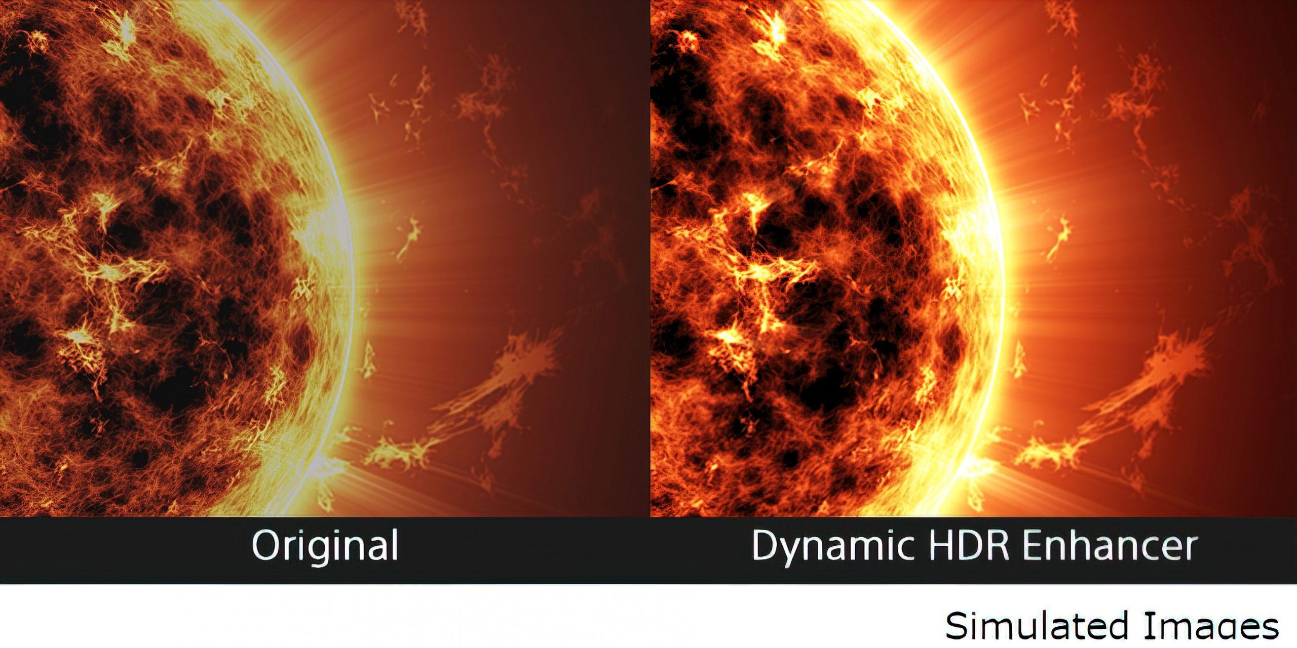 Sony VPL Dynamic-HDR-Enhancer