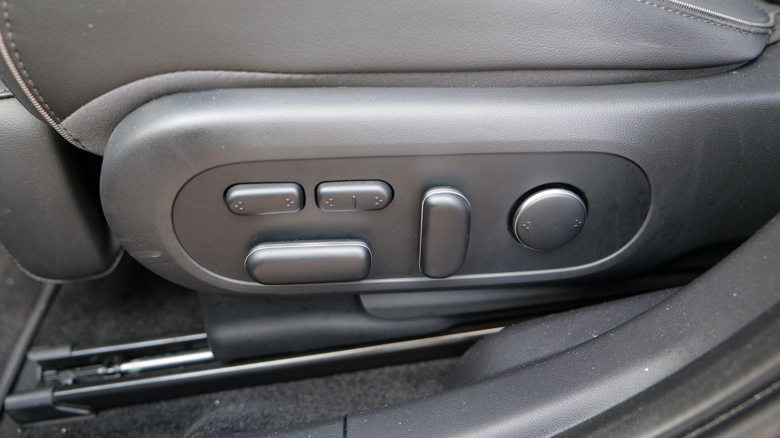 Hyundai IONIQ5 front seat adjustment