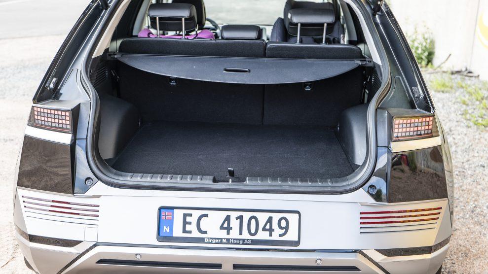 Hyundai IONIQ5 trunk