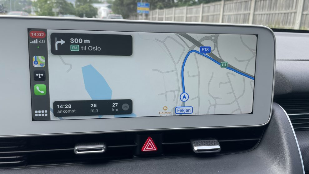 Hyundai Ioniq 5 CarPlay Apple Maps