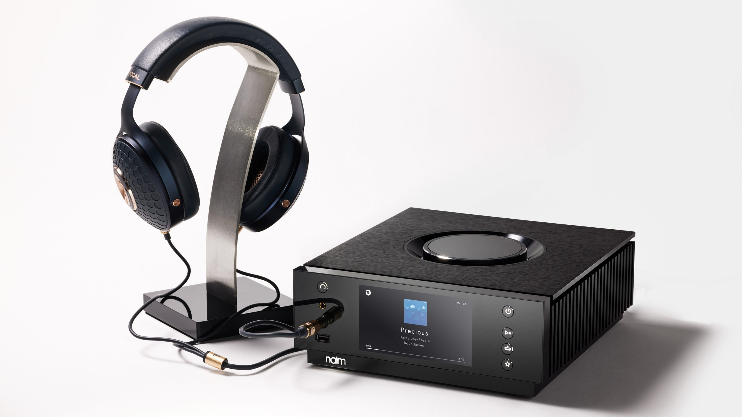 Naim Uniti Atom Headphone Edition - with Focal Celestee