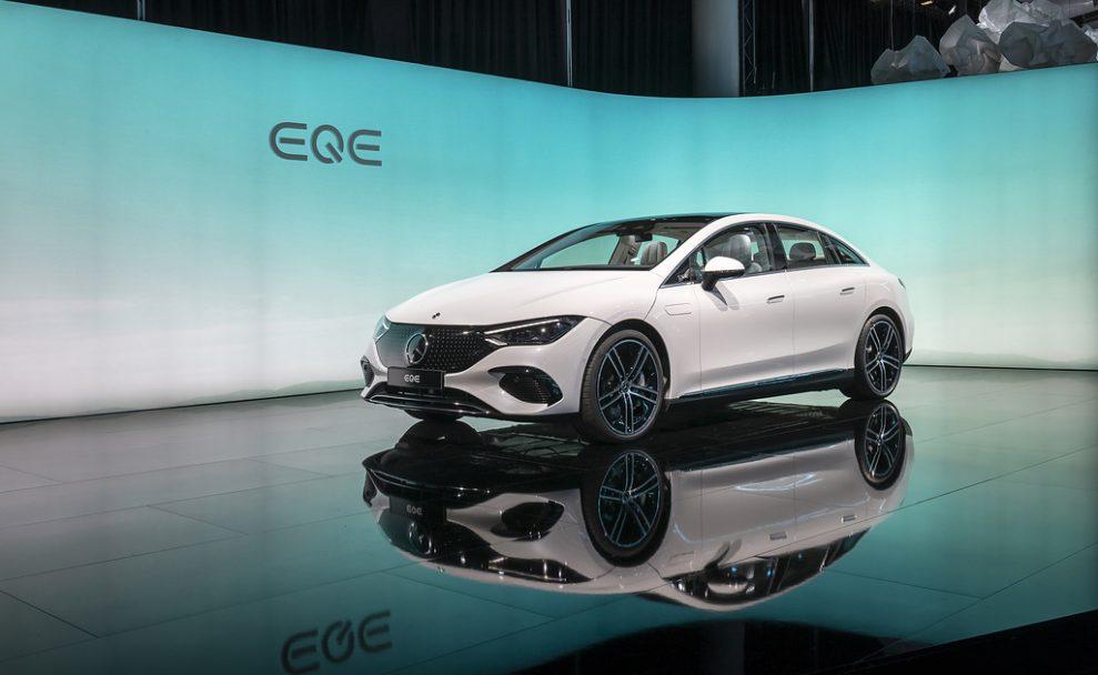 Mercedes-Benz Cars auf der IAA Mobility. München 2021Mercedes-Benz Cars at the 2021 IAA Mobility. Munich 2021
