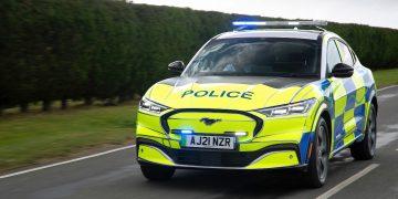 Ford Mustang Mach-E Politibil Police Car